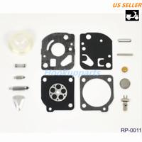 Carburetor Repair Kit for ZAMA RB-47 Poulan Craftsman WeedEater Blower DR125 E2