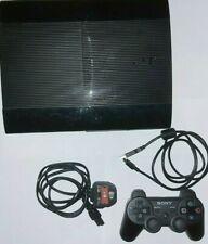 Sony PlayStation 3, PS3 Super Slim 750GB Black Console CECH-4003A