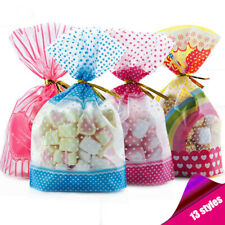 50 Pcs Candy Bag Packaging Sweet Plastic Xmas Birthday Wedding Party Pounch Gift
