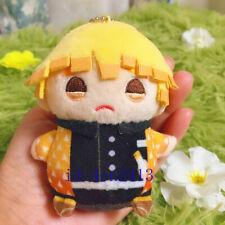 Demon Slayer: Kimetsu no Yaiba Agatsuma Zenitsu Plush Doll Hanging Toy 10cm Gift