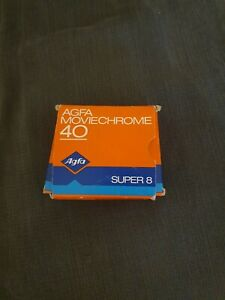 Vintage Agfa Moviechrome 40 super 8 film