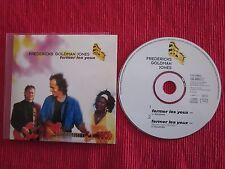 CD SINGLE FREDERICKS GOLDMAN JONES FERMER LES YEUX