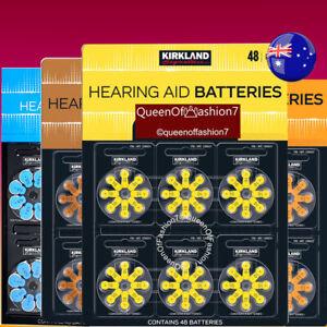 96/48/16/8/24/(60+4) x Size 312/10/13/657 Kirkland Hearing Aid Battery Batteries