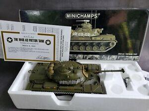 Minichamps M48 A3 Patton Main Battle Tank Vietnam 1969 1:35 Scale Diecast Model