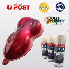 CANDY AEROSOL PAINT 400ML KIT CANDY APPLE LAVA RED BASE HEAT BODY BRAKES