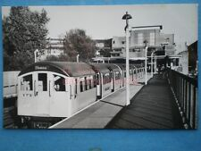 POSTCARD RP LONDON TRANSPORT TUBE STOCK OF 1959 AT RAYNES LANE STATION