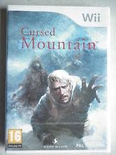 Cursed Mountain Jeu Vidéo Wii