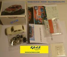 1/43 Renault Clio 16v Rally Montecarlo 1992 Magaud Kit