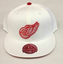 NHL Detroit Red Wings Mitchell and Ness Vintage Cap Hat M&N TK39M NEW!