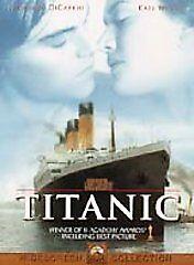 Titanic (1997) DVD James Cameron(DIR) 1997