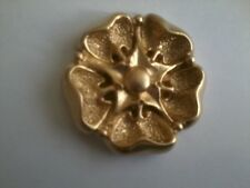 Resina Decorativa Stampaggio-classico tradizionale Fiore inglese TUDOR ROSE-Gold