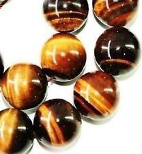 6mm ,Rugissement de tigre oeil africaine, Perles en vrac gemme, 38cm