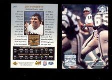 1997 UD Legends JIM PLUNKETT Oakland Raiders Super Bowl XV Memories Card