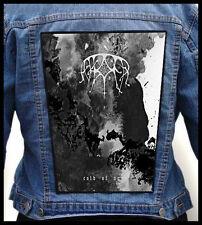 ASH BORER - Cold of Ages   --- Huge Jacket Back Patch Backpatch
