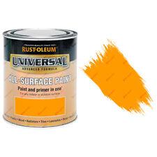 Rust-Oleum Universal toutes surfaces auto apprêt peinture brillantes ORANGE