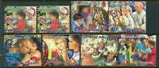 NEW ZEALAND....    1994  xmas  set  used