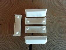 30 Stück  Wasserschlitzkappen für  Schüco Alu und PVC Fenster und Türen Weiß.