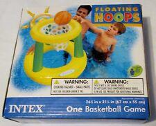 Nib Intex Floating Hoops Inflatable Basketball Game for Pool