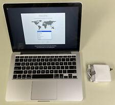 "Apple MacBook Pro 13"" Retina A1502 3.1GHz Core i7 16GB RAM 256GB SSD 10.15 2015"