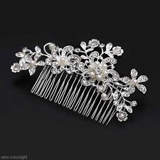 Haarschumuck Strass elegant Mode Haarnadel Haarspange Haarklammer