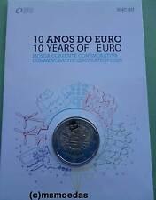 Portugal 2 Euro Gedenkmünze 2012 Euro-Bargeld Off. Coincard Münzkarte BU BNC