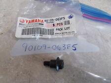 NOS OEM Yamaha Seat Frame Footrest Bolt 1992-2015 CY50 CP250 YFM400 90109-063F5