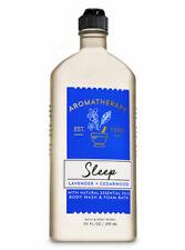 BATH & BODY WORKS AROMATHERAPY SLEEP LAVENDER CEDARWOOD WASH SHOWER GELFOAM 10oz
