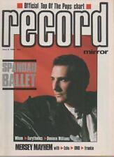 RECORD MIRROR MAGAZINE  JUNE 2 1984  SPANDAU BALLET    LS