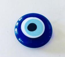 Glass Evil Eye Greek Mati Nazar Refrigerator Fridge Magnet Whiteboard Memo