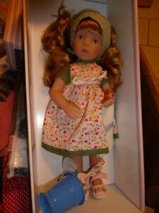 Käthe Kruse  Puppe   Mini  Minouche  34 cm    neu Lina rot