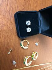 Mixed Lot of Jewelry - earrings necklaces