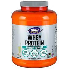 NOW Foods Whey Protein, Creamy Vanilla, 6 lb Powder