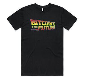 Bitcoin's The Future Bitcoin T-shirt Tee Funny Retro Crypto Cryptocurrency BTC