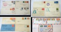 15 Philippines Covers FDC Occupation AirMail Stamps Postage Collection 1929-1954