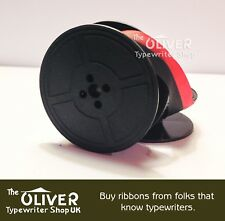 SILVER REED SILVERETTE TYPEWRITER RIBBON (BLACK OR BLACK/RED) HIGH QUALITY