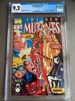 The New Mutants #98 1st Deadpool CGC 9.2 White Pages; KEY Firsts!