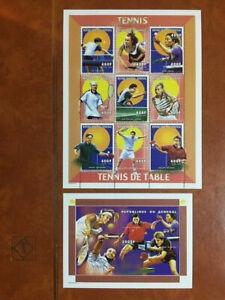 Senegal 1999 Tennis MI.1698-1706 MINI Sheet + SS Set