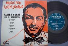 "XAVIER CUGAT AND HIS ORCHESTRA Music for Latin Lovers original uk mercury 10"" EX"