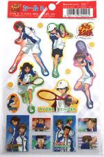 Prince of Tennis Seigaku Sticker Pack Anime Manga Licensed MINT