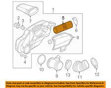PORSCHE OEM 05-12 Boxster Engine-Air Cleaner Filter Element 98711013301