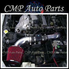 BLACK & RED 1999-2003 Protege5 MP3 MP5  1.8 1.8L 2.0 2.0L AIR INTAKE KIT
