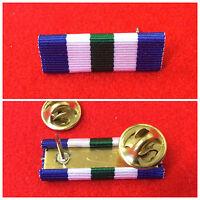 Army LSGC Ribbon Pin Navy LSGC Pin RAF Long Service Pin VRSM LSGC Medal Bar