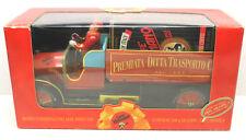 Vintage 2000 Modello Tin Metal Coffee Truck+2 Boxes of Coffee! Fiat 18BL Inizio