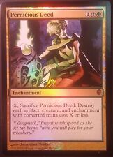 Action Pernicieuse Conspiracy PREMIUM / FOIL  - Pernicious Deed NM - Magic Mtg -
