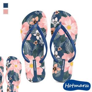 Girl Flip-flop Women Colourful Sandal Lady Slipper Beach Casual Nonskid Flower ^