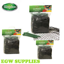 More details for blagdon pond cover net clearview heron cat fox leaves - fish protector black net
