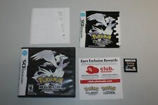 Pokemon: Black Version (Nintendo DS) Authentic Complete CIB With Manual & Case