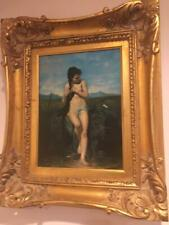 BEAUTIFUL FRAME REPRODUCTION PAINTING / PRINT ON BOARD