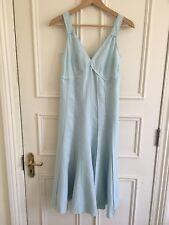Gerard Darel Linen Dress Size 36 hobbs jigsaw