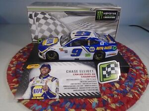 2018 Chase Elliott 1/24 NAPA Can-Am Duel #2  Win Camaro ZL1---GREAT BUY